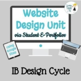Teaching Website Design Skills via Student E-Portfolios &