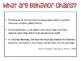 Teaching With Behavior Chains