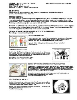Teaching With Political Cartoons in The Social Studies & Geography Classroom