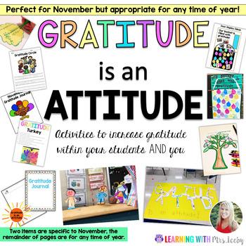 Gratitude is an Attitude { Teaching With Gratitude }