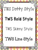 Teaching With Style Fonts Bundle {FREEBIE}
