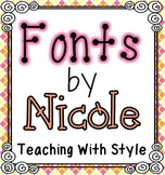 Teaching With Style Fonts {FREEBIE}