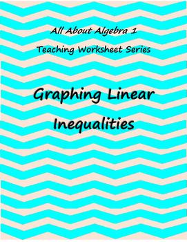 Teaching Worksheet: Graphing Linear Inequalities
