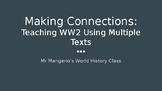 Teaching World War 2 Using Multiple Texts