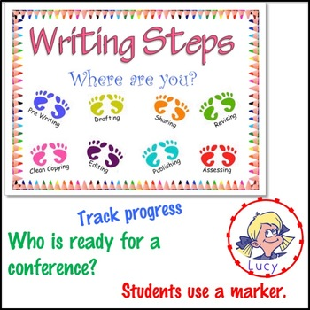 Writing Center Organization Display Charts and Student Tracking System