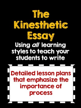 how to teach essay writing