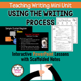 Teaching Writing Using the Writing Process for High School