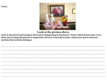 Teaching Writing using Pictures