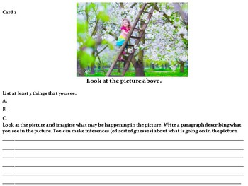 Teaching Writing with Pictures Set 2