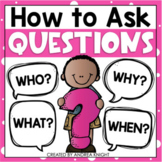 Teaching Children How to Ask Questions (K-2)