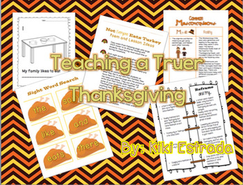Teaching a Truer Thanksgiving