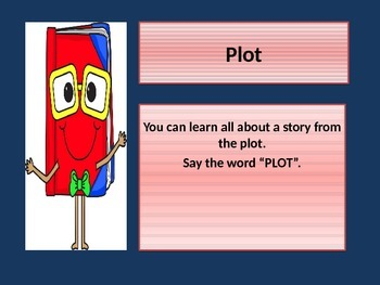 Teaching about PLOTS with a POWER POINT presentation. Comm