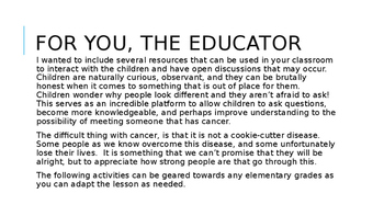Teaching about cancer in your classroom