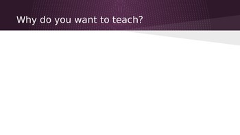 Teaching as a Profession PPt Education Professions