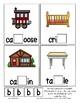 Teaching by the Letter B Missing Letter Clip Cards for Preschool & Fine Motor