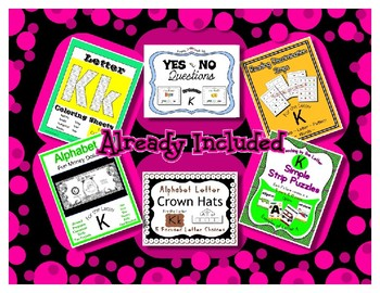 Teaching by the Letter Growing Bundle - Focus Alphabet is B