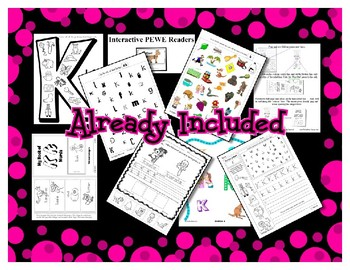 Teaching by the Letter Growing Bundle - Focus Alphabet is E
