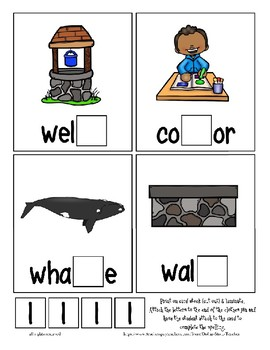 Teaching by the Letter L Missing Letter Clip Cards for Preschool & Fine Motor