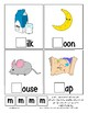 Teaching by the Letter M Missing Letter Clip Cards for Preschool & Fine Motor