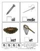 Teaching by the Letter N Missing Letter Clip Cards for Preschool & Fine Motor