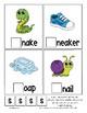 Teaching by the Letter S Missing Letter Clip Cards for Preschool & Fine Motor