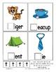 Teaching by the Letter T Missing Letter Clip Cards for Preschool & Fine Motor