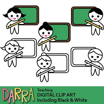 Teaching clip art