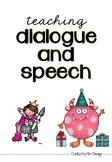 Teaching dialouge and speech