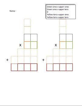Teaching double digit Multiplication with Carrying