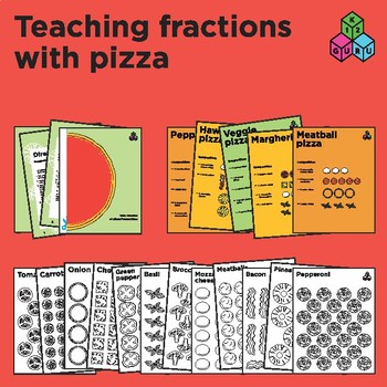 Teaching fractions with pizza