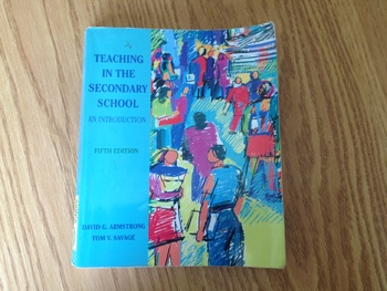 Teaching in the Secondary School Fifth Edition