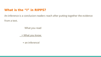 Teaching students the RIPPS short answer strategy: focusing on inference