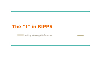 Teaching students the RIPPS short answer strategy: focusin
