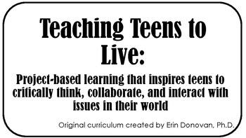 Teaching teens to live