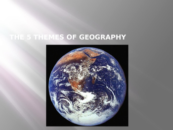 Teaching the 5 Themes of Geography