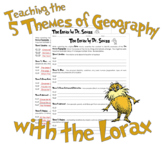 Teaching the 5 Themes of Geography with the Lorax