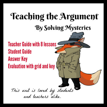 Teaching the Argument by Solving Mysteries