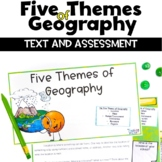 5 Themes of Geography Reading and Assessment