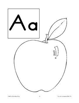 Teaching the Letter: Aa