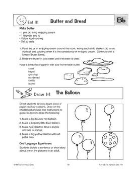 Teaching the Letter: Bb
