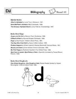 Teaching the Letter: Dd