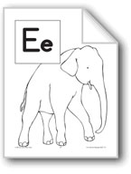 Teaching the Letter: Ee