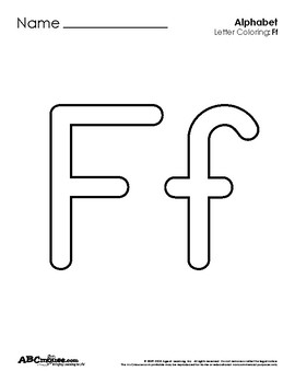 Letter Ff Collection