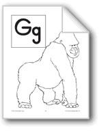 Teaching the Letter: Gg