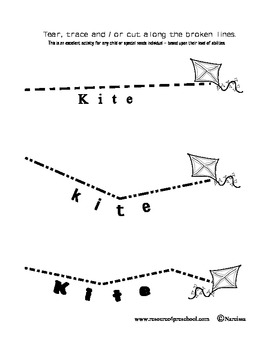 Teaching the Letter K for Kite - Alphabet + Basics - Collect the entire set