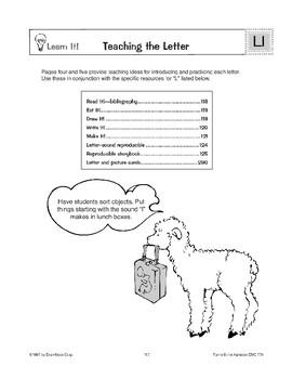 Teaching the Letter: Ll