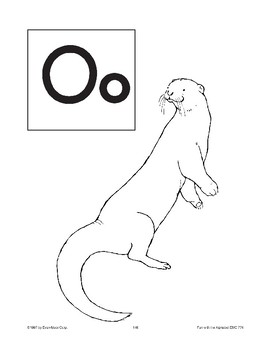 Teaching the Letter: Oo