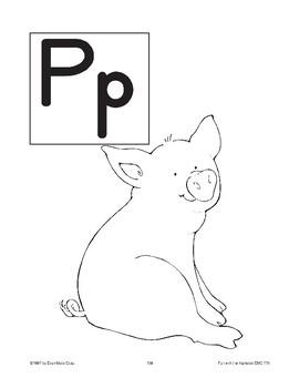 Teaching the Letter: Pp