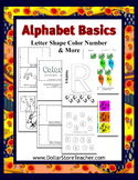 Teaching the Letter R - Basic Alphabet Plus Preschool Curriculum