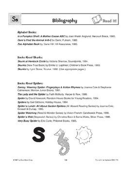 Teaching the Letter: Ss